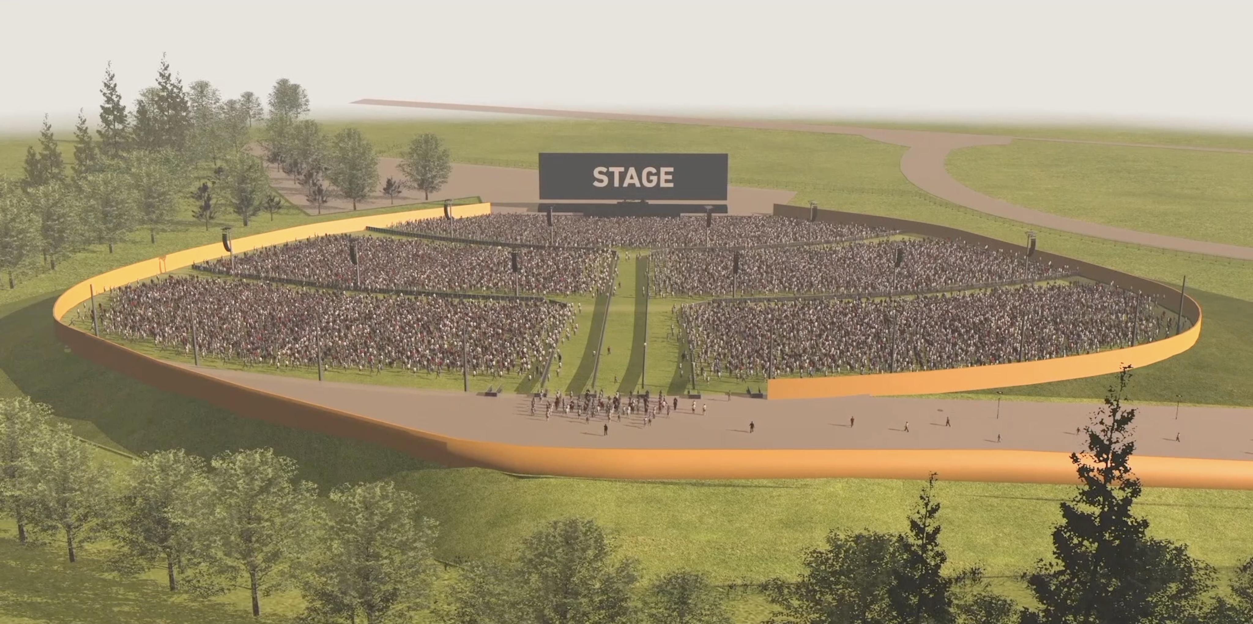 VIDEO – Scopri tutti i settori di RCF Arena