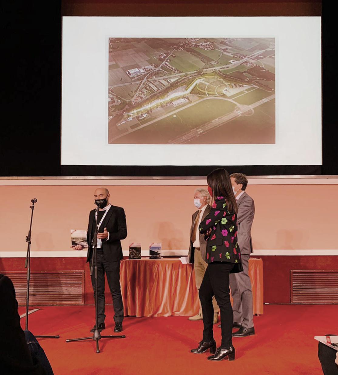 La futura Arena Eventi di Reggio Emilia vince il primo premio The Plan Award 2020